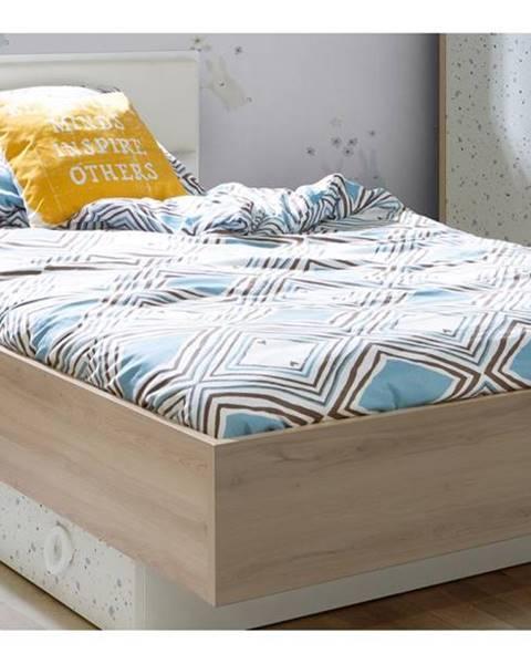 Hnedá posteľ Forte