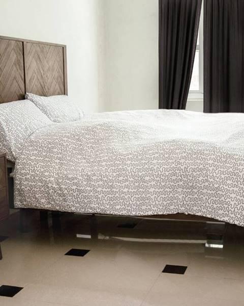 Hnedá posteľ Livin Hill