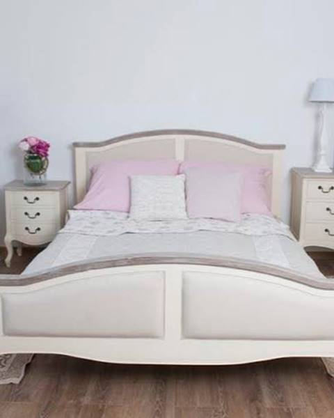 Béžová posteľ Livin Hill