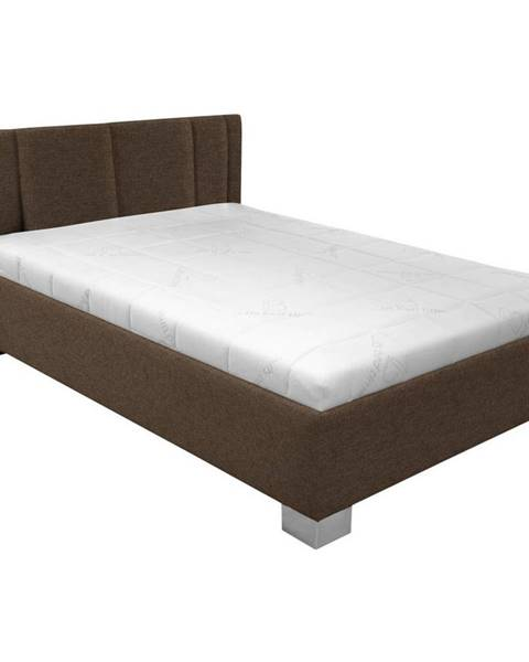 Hnedá posteľ Möbelix